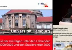 Vortrag Lehrendenumfrage 2009